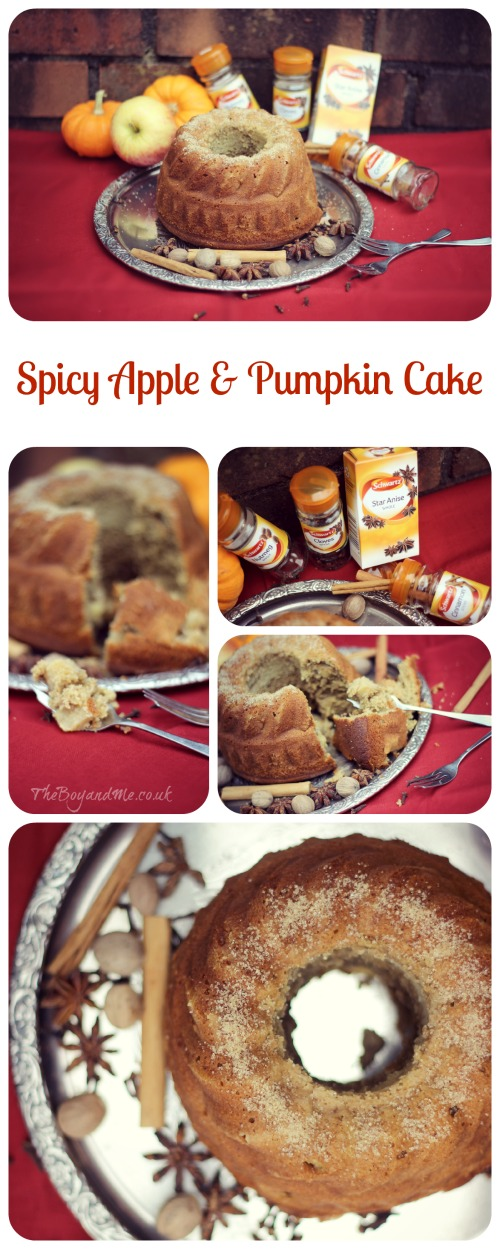 Spicy Apple & Pumpkin Cake