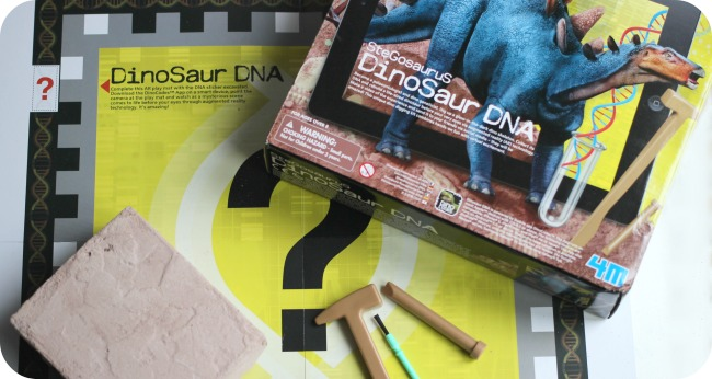 Dinosaur DNA fossil kit
