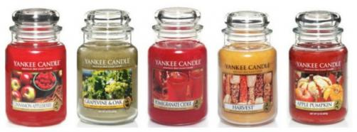 Autumn Yankee Candles