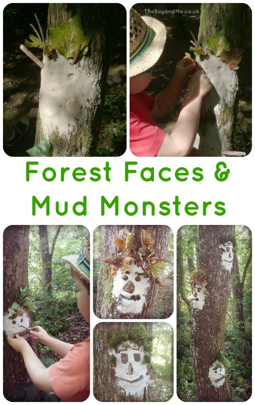 Creating Wild Art: Forest Faces