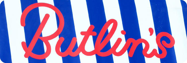 Butlin's stripes