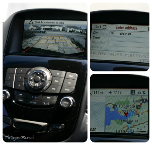 Chevrolet Orlando satellite navigation