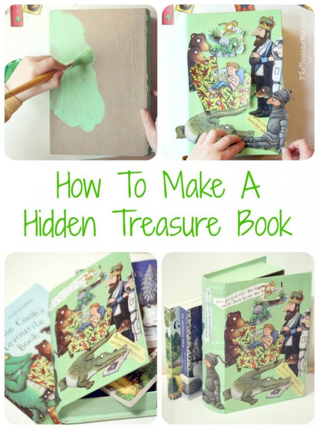 How To Make A Hidden Treasure Book