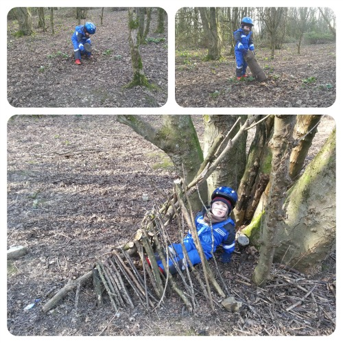 Fifty Things - Building a Den