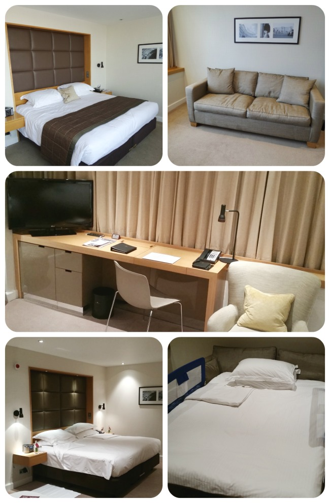 Executive room in Royal Garden Hotel
