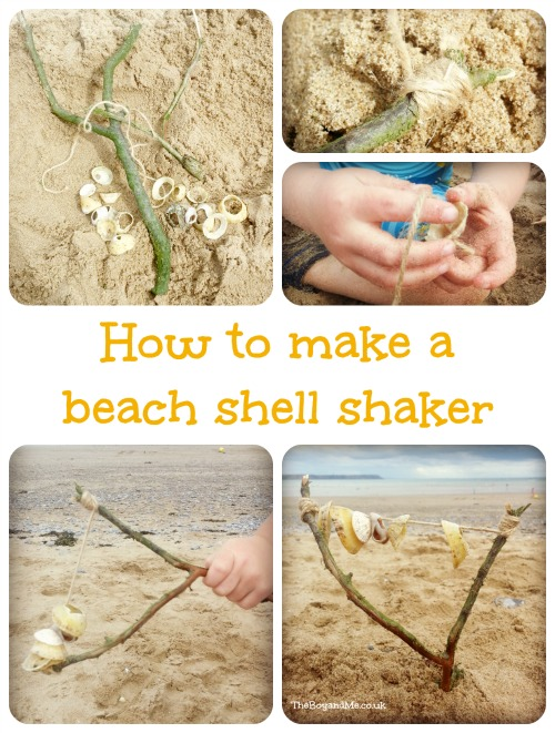 How To Make A Beach Shell Shaker