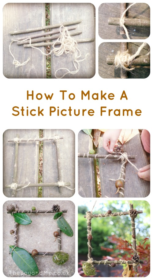How To Make A Stick Picture Frame