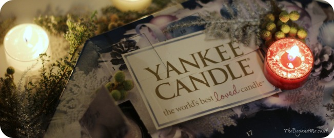 Yanke Candle Advent Calendar 2014