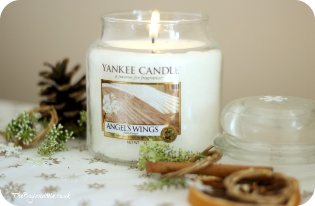 Angel's Wings Yankee Candle