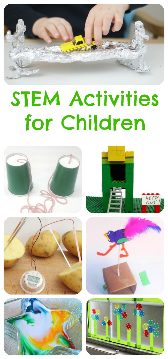 Children's STEM activities