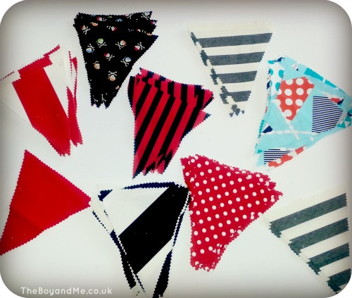 Pirate Bunting flags