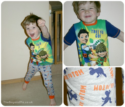 Tree Fu Tom pyjamas