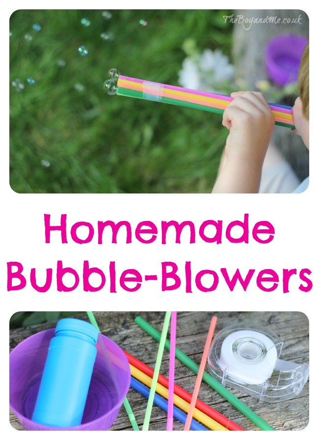 Homemade Bubble-Blowers