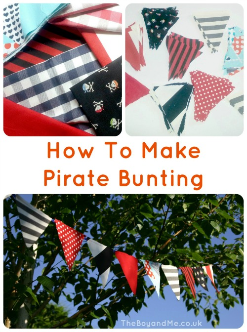 How To Make Pirate Bunting