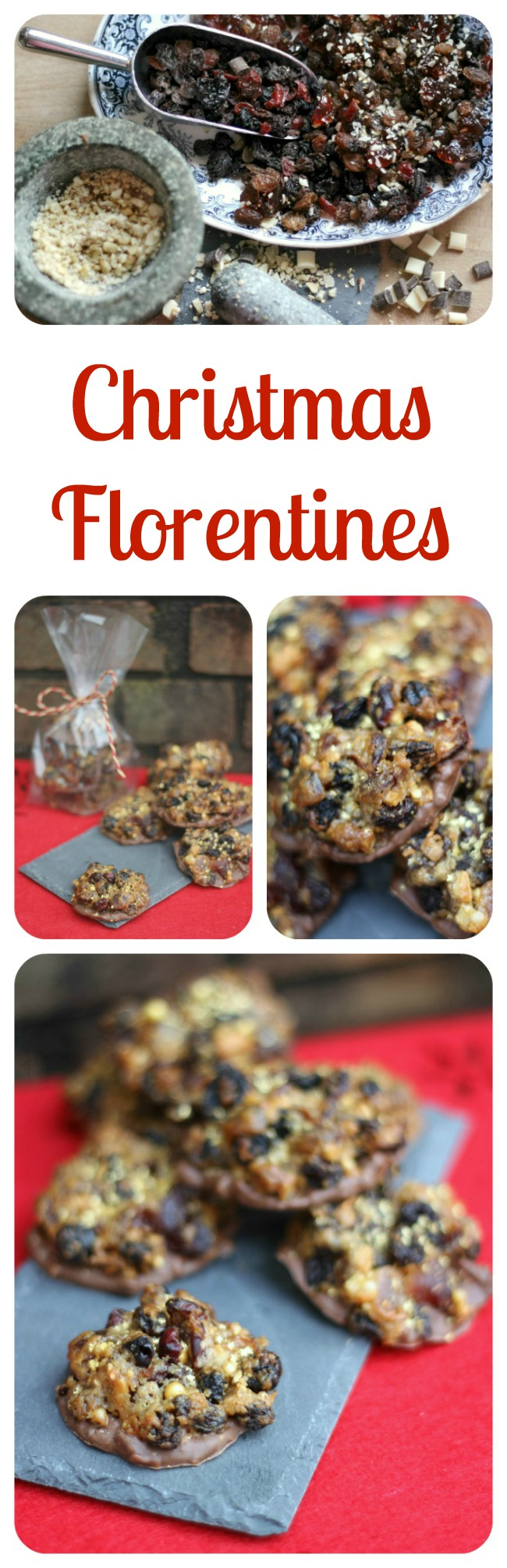 Christmas fruit and nut cookies