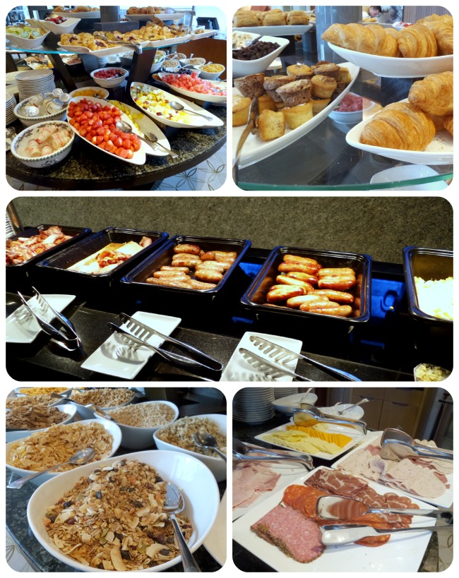 Breakfast at Royal Garden Hotel