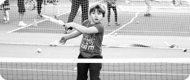 Tennis For Kids 048 b&w