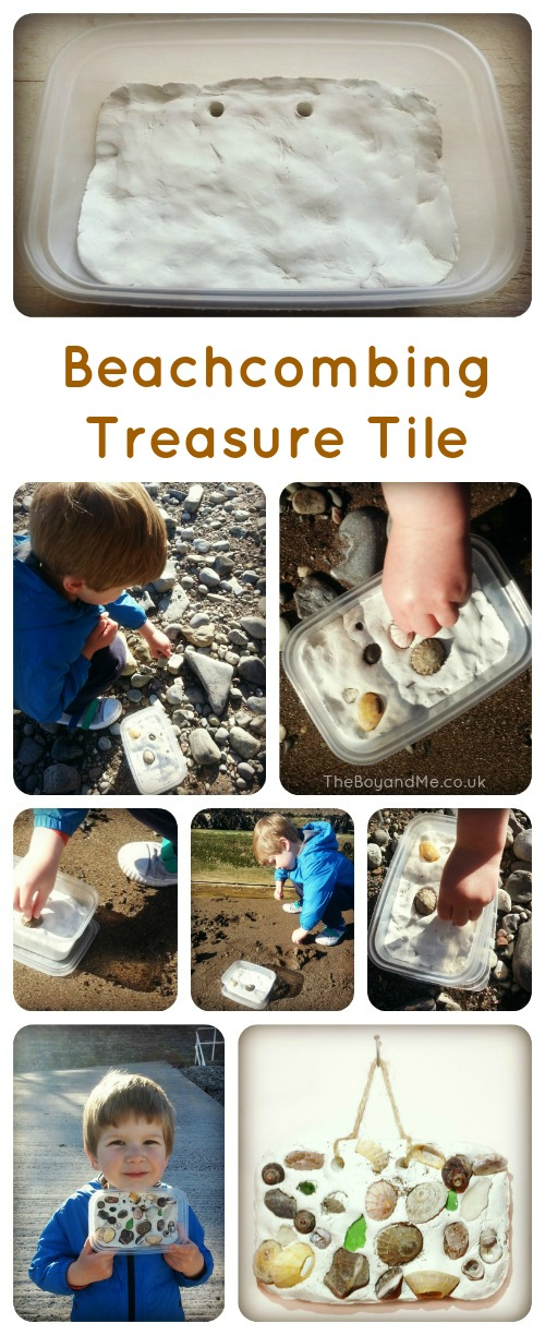 Beach Treasure Tile