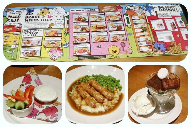 Beefeater children's menu