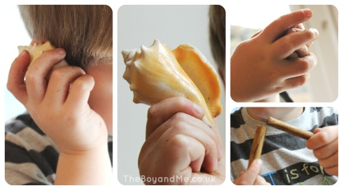 Mirror-based Sensory Play