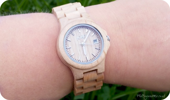 Jord watch Ely in Maple