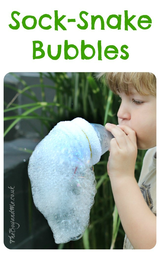 Sock-Snake Bubbles 1