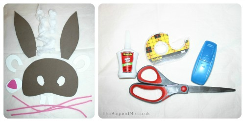 How To Make An Easter Bunny Mask