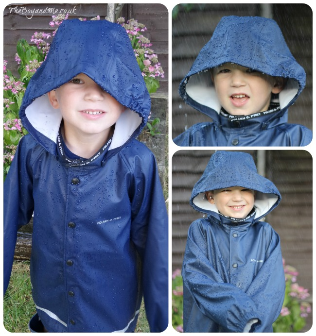 Polarn O Pyret raincoat