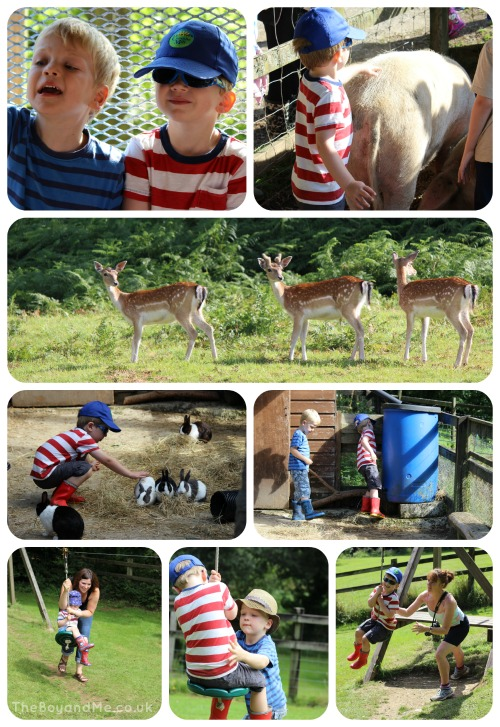 Country Kids of all ages at Coombe Mill 1