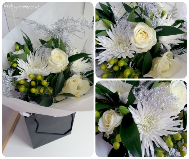 Christmas Flowers by Debenhams