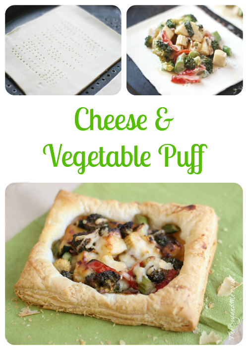 Cheese & Vegetable Puff