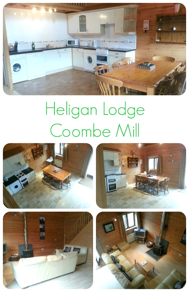 Heligan Lodge in Coombe Mill (Living area)