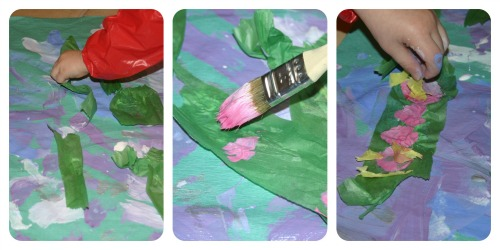Monet's waterlillies for children
