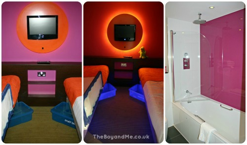 Bedroom and Bathrooms, Neptune Room, Butlin's