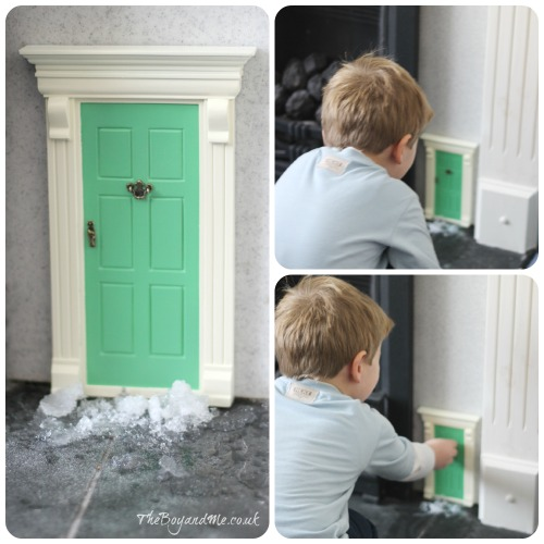 Win a magic elf or fairy door giveaway theboyandme for Elf fairy doors