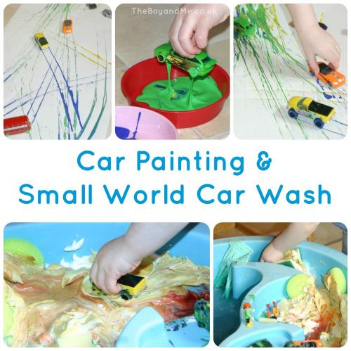 Car Painting & Small World Car Wash