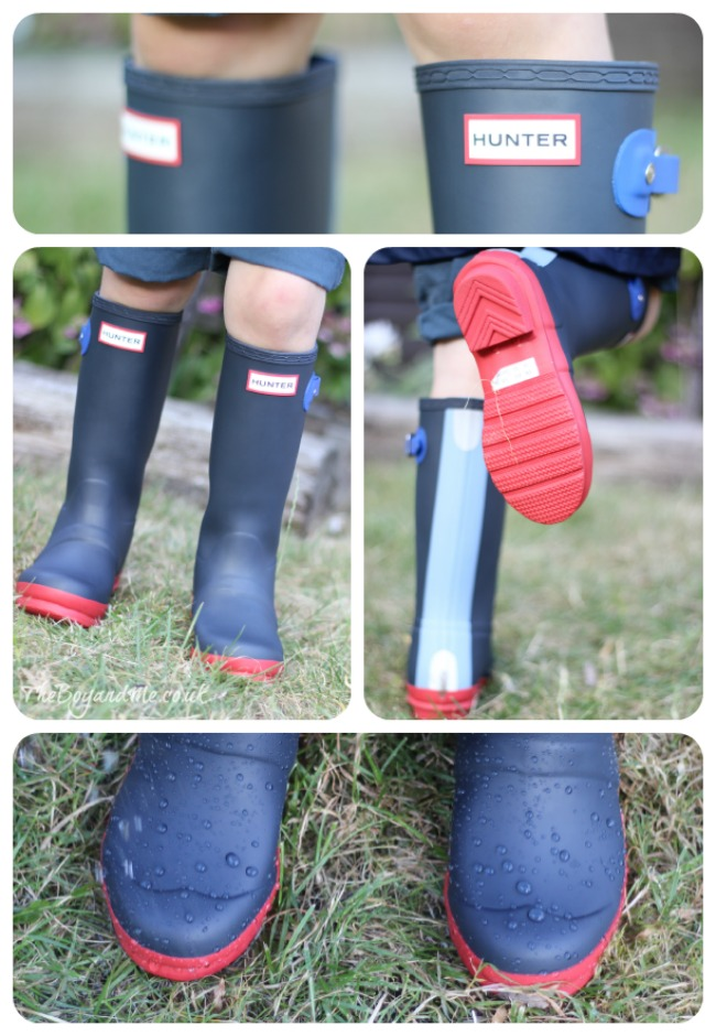 Children's Contrast Hunter Wellies