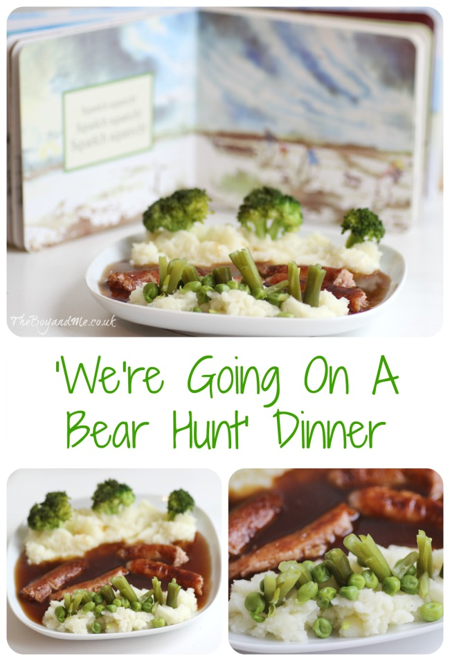 'We're Going On A Bear Hunt' meal