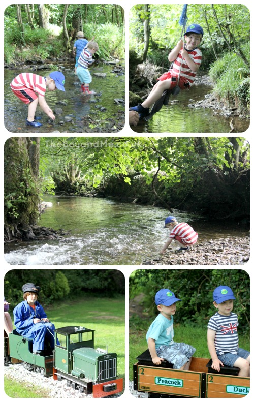 Country Kids of all ages at Coombe Mill 3