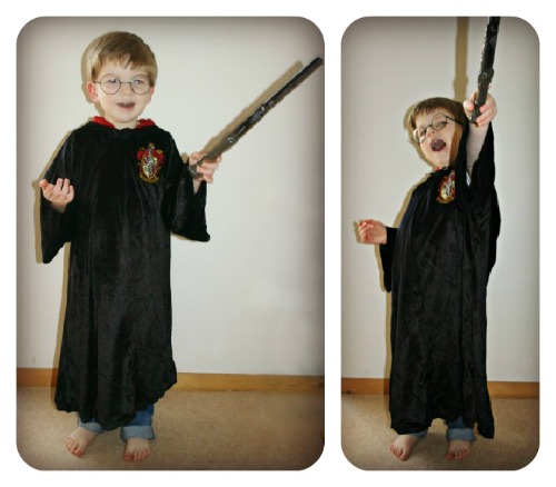 harry potter dressing up