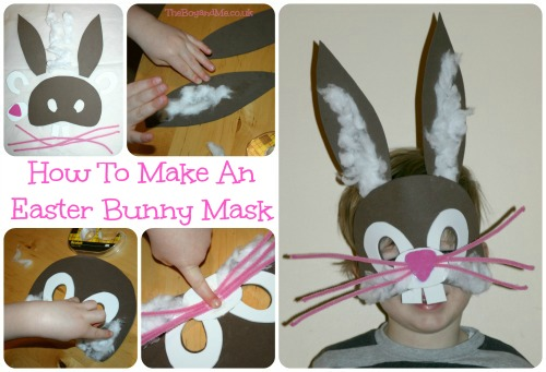 How To Make An Easter Bunny Mask a