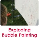Exploding Bubble Painting