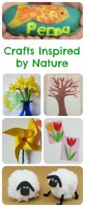 Children's Crafts Inspired by Nature