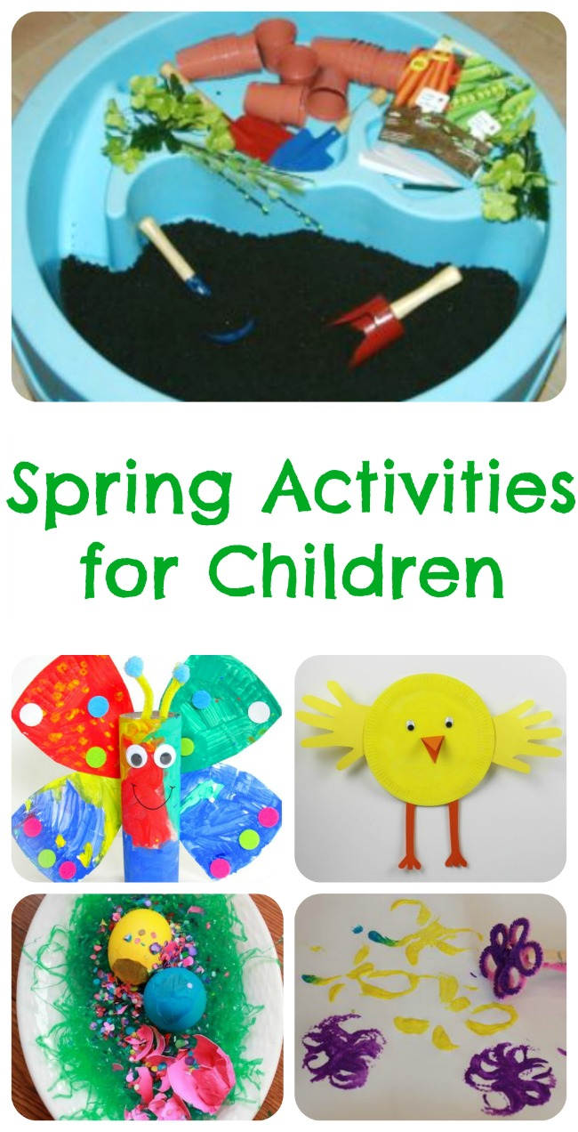 Spring Activities For Children Tuesday Tutorials