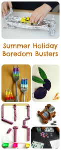 Summer Holiday Boredom Busters